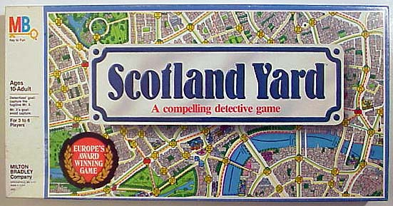 Scotland Yard: A Compelling Detective Game